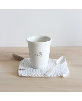 "Tasse ""it's ok"" helen b"
